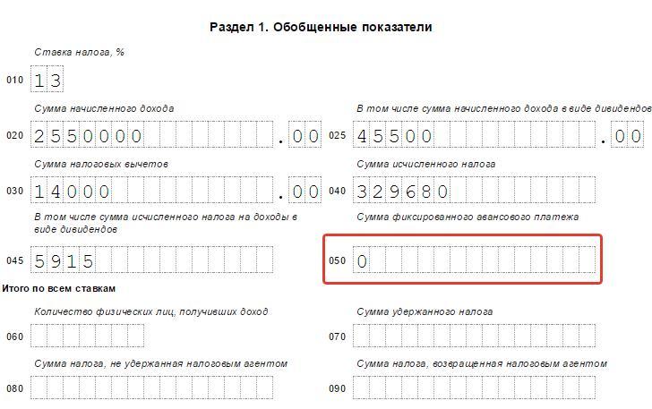Инструкция по заполнению Формы П 2 Квартальная - картинка 4