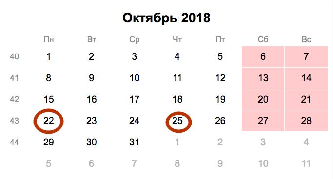 Отчёт 4-ФСС за 9 месяцев 2018 года