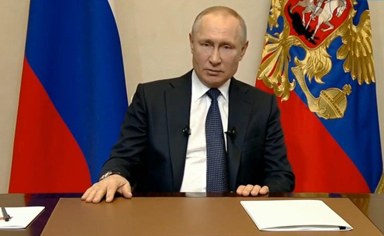 Обращение Путина 25 марта: следующая неделя нерабочая, отсрочка по налогам для бизнеса, снижение взносов до 15%, льготы по кредитам