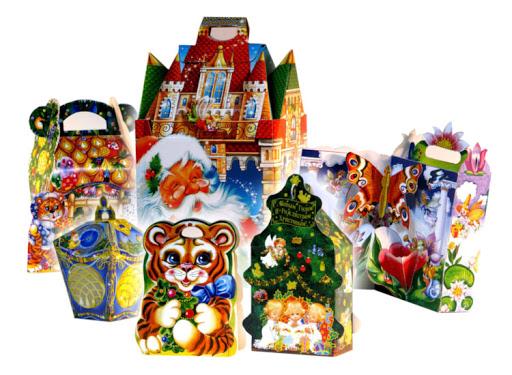 Детские новогодние подарки оптом и по индивидуальным заказам