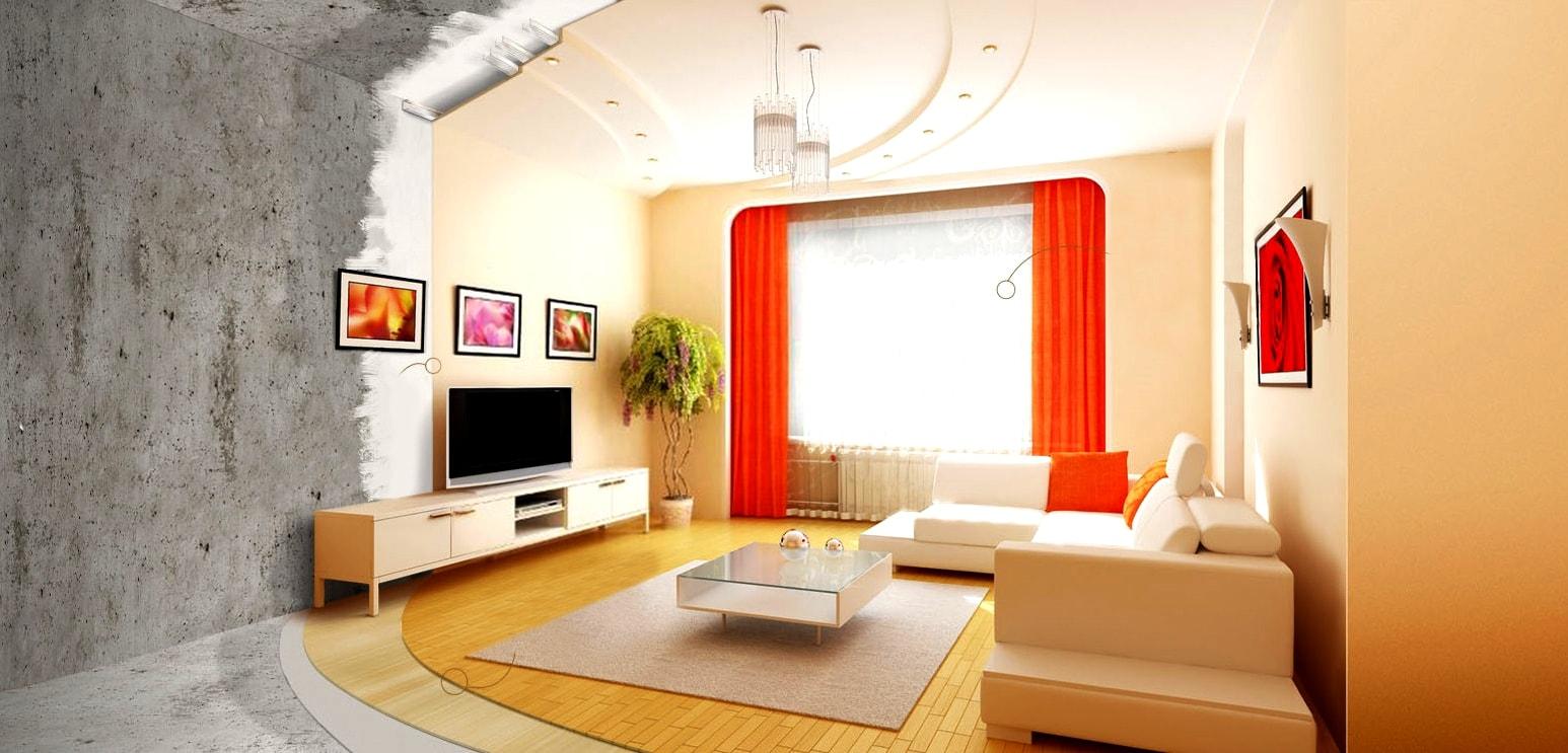 Комплексный ремонт квартир в новостройке от АСК Триан