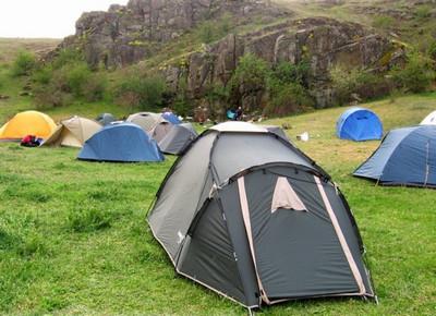 Какая должна быть водостойкость палатки?
