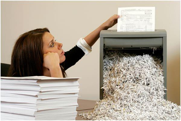 Как проходит конфиденциальное уничтожение документов?