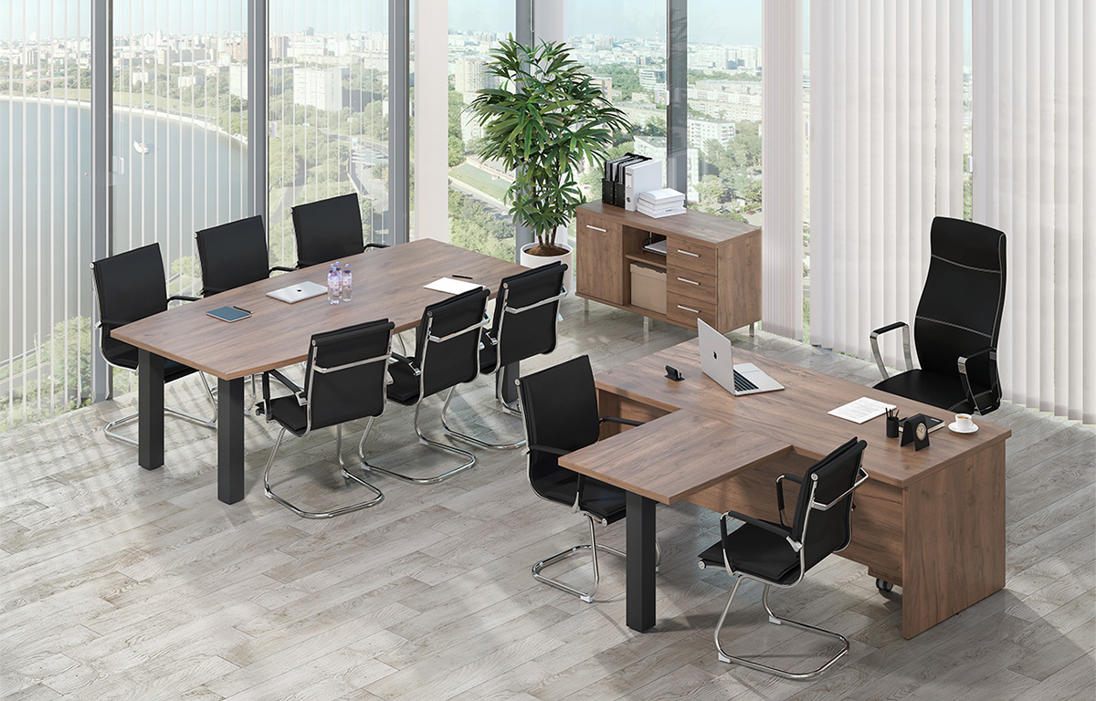 Кабинет руководителя – советы по выбору мебели и оформлению