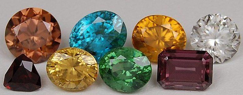 Редчайшие драгоценные камни со всех уголков мира